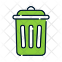 Basket Can Garbage Can Icon