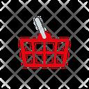 Basket Commerce Retail Icon