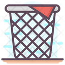 Basket Clothes Basket Clothes Hamper Icon