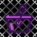 Food Basket Halloween Icon