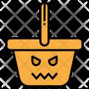 Basket Halloween Shopping Basket Icon