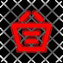 Basket Ecommerce Cart Icon