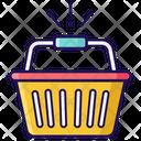 Basket Bucket Shopping Bucket Icon
