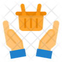 Shopping Online Hand Icon