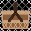 Basket Bag Holiday Icon