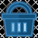 Shopping Basket Shopping Bucket Online Shopping Icon