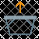 Basket Remove Arrow Icon