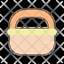 Basket Market Empty Icon