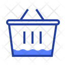 Grocery Basket Shopping Icon