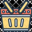Basket Hamper Container Icon