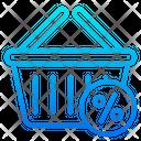 Basket Tag Shopping Icon