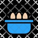 Egg Easter Basket Icon