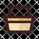 Basket Travel Holiday Icon