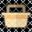 Basket Travel Tourist Icon