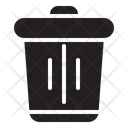 Basket Bucket Trash Icon