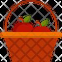 Basket Food Fruit Icon