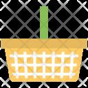 Basket Plastic Fruit Icon