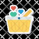 Basket Trolley Cart Icon