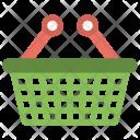 Shopping Basket Vegetable Icon