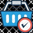 Basket Shopping Add Icon