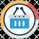 Basket Graph Shopping Icon