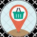 Basket Location Marker Icon