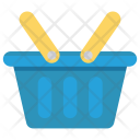 Basket Food Trolley Icon