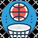 Backboard Basketball Court Icon