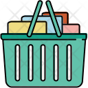 Full Shopping Basket Icon