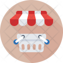 Shopping Basket Eshop Icon