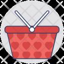 Basket Hamper Cart Icon