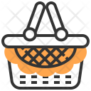 Basket Picnic Camping Icon
