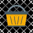 Basket Camping Picnic Icon