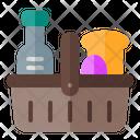 Spring Basket Bread Icon