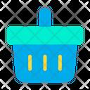 Bucket Wishlist Shopping Basket Icon