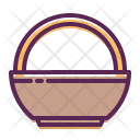 Basket Bowl Carry Icon