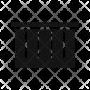Basket Dust Bin Icon