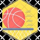 Basket Ball Ball Sports Icon