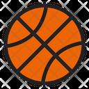 Basket Ball Sport Ball Icon