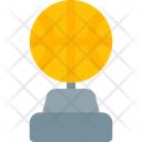 Basket Ball Trophy Trophy Badge Icon