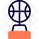 Basket Ball Trophy Icon