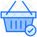 Basket Check Basket Cart Icon