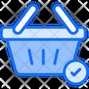 Basket Check Icon