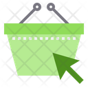 Basket Click Icon