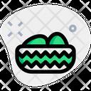 Basket Decorative Egg Icon