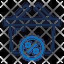 Basket Discount Online Shop Online Store Icon