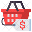 Mprice Tag Basket Price Shopping Offer Icon