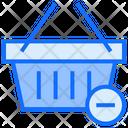 Basket Remove Basket Cart Icon