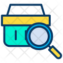 Search Basket Shopping Cart Icon