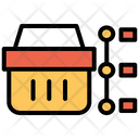 Basket Timeline Icon